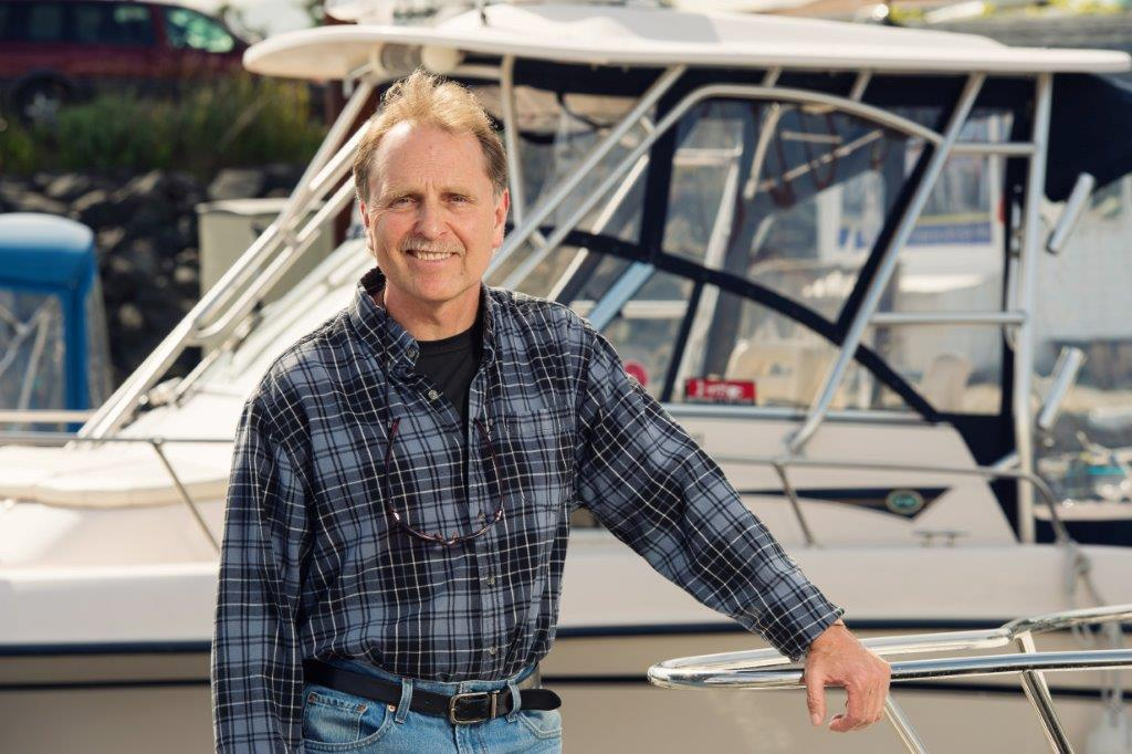 Brant Peniuk - over 46 years of Guiding Experience in Campbell River, B.C. area waters.