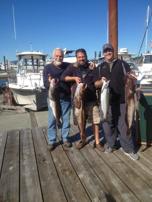 Campbell River Ling Cod Fishin
