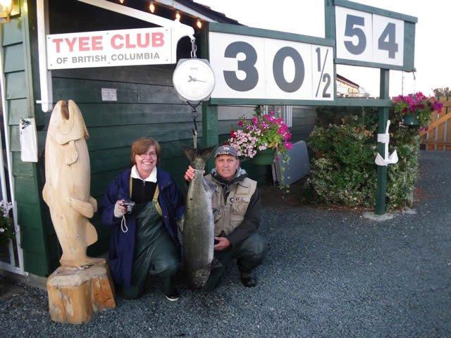 Tyee Fishing - Join the Tyee Club
