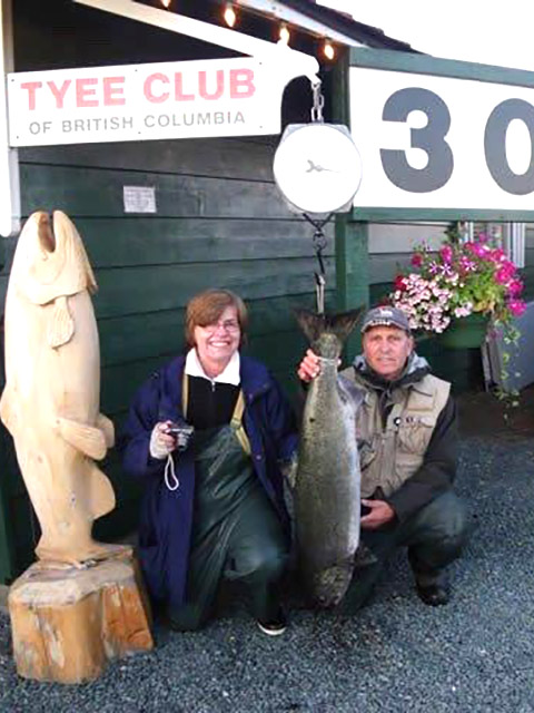 Tyee Fishing - Peniuk's Sportfishing